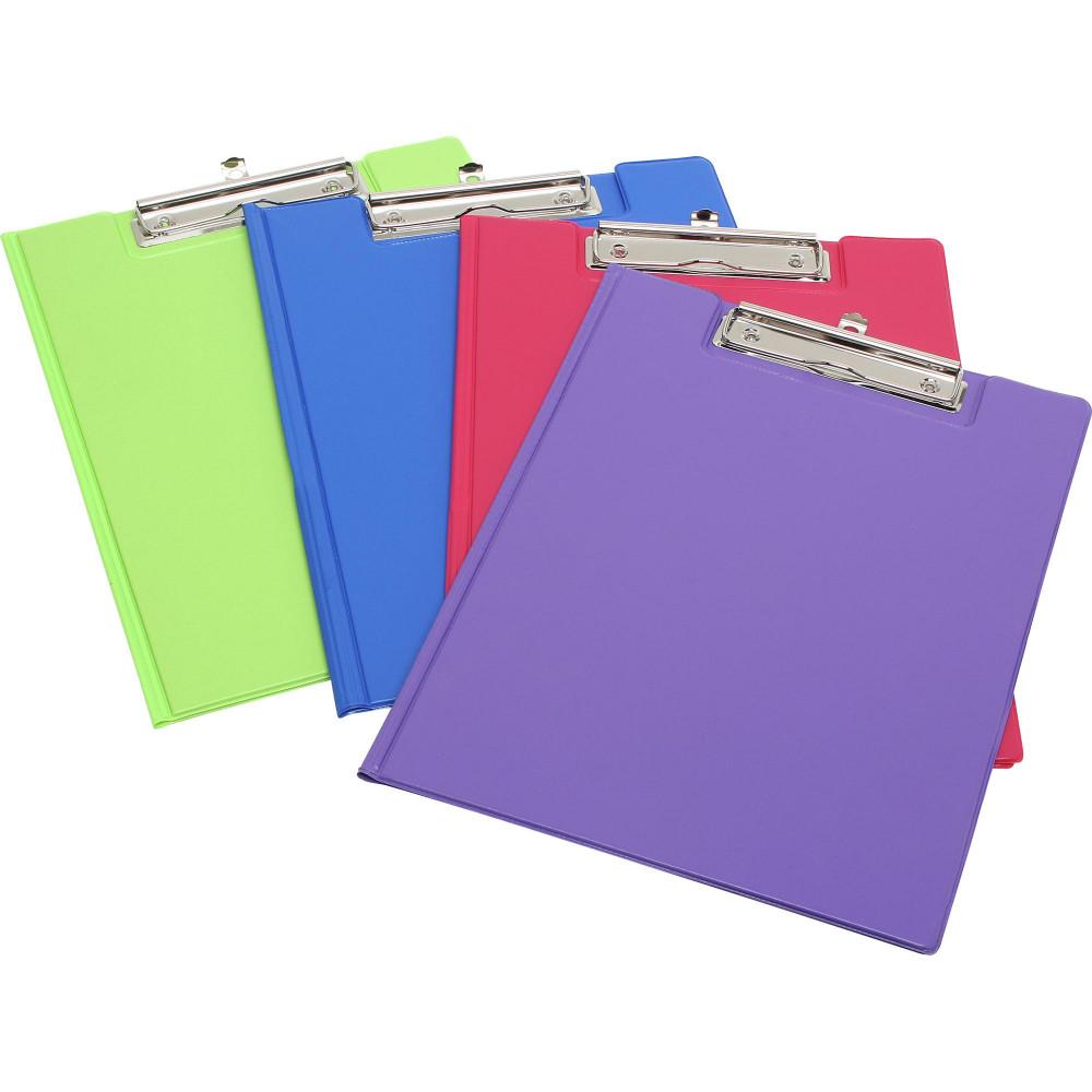 MARBIG SUMMER COLOR CLIPFOLDER A4 PVC Purple