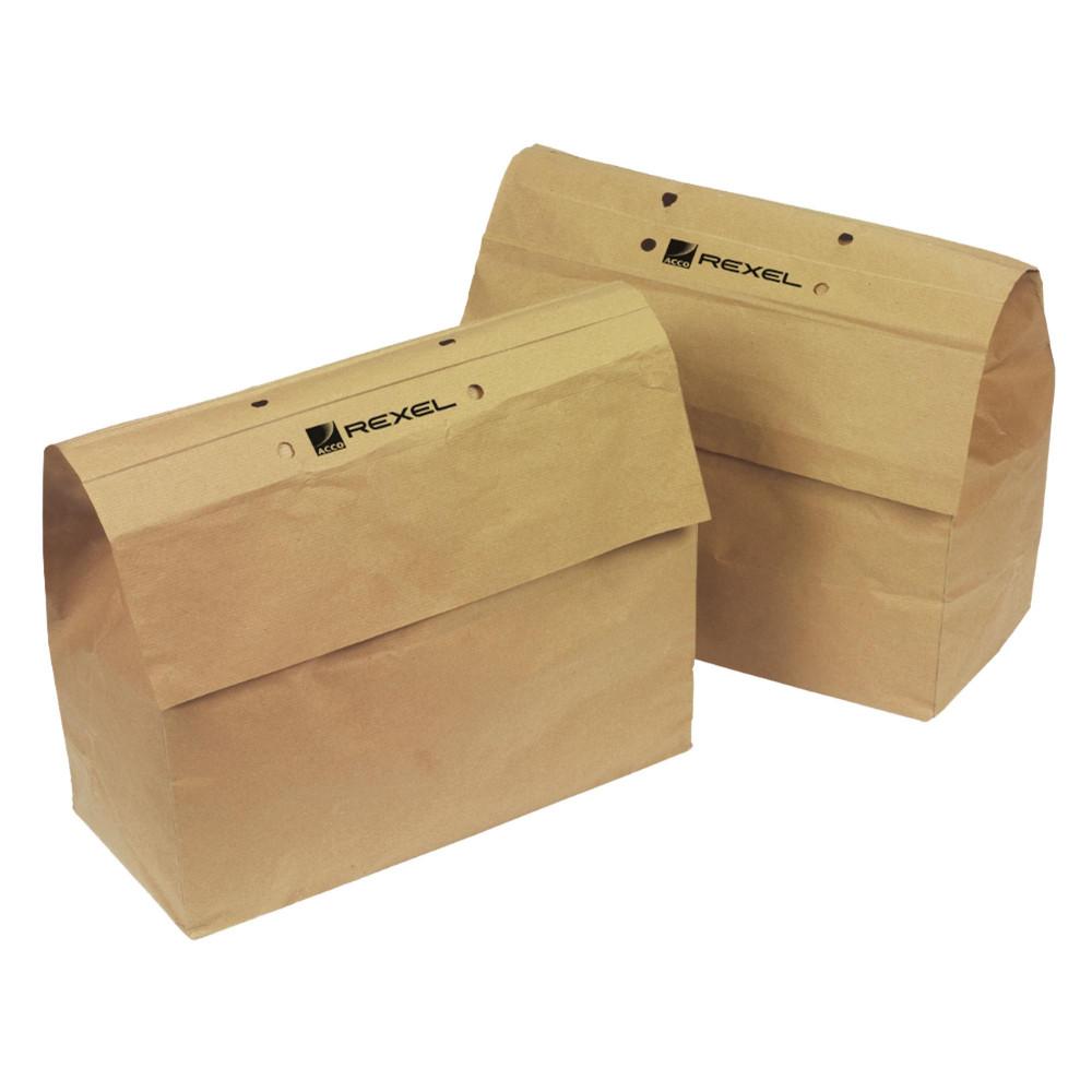 REXEL MERCURY SHREDER WASTEBAG SOHO Recyclable Paper bag Pk20
