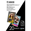 CANON ZINK PHOTO PAPER 2 Inch x 3 Inch Zero Ink Pack of 20