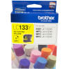 BROTHER LC133Y INKJET CART Yellow 600pg