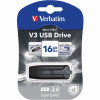 VERBATIM STORE N GO Version 3 V3 Flash / USB Drive 16gb Grey