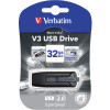 VERBATIM STORE N GO Version 3 V3 Flash / USB Drive 32gb Grey