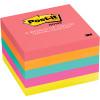 POST-IT 654-5PK NOTES NEON Prem Colours 100Shts 76x76mm