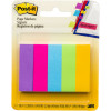 POST-IT 670-5AU PAGE MARKERS Ultra 500 Asstd 13x44mm