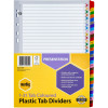 MARBIG COLOURED DIVIDERS A4 1-31 Reinf Tab PP