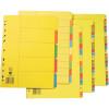 MARBIG BRIGHT MANILLA DIVIDERS A4 10 Tab Multi-Coloured