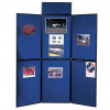 NOBO PORTABLE DISPLAY BOARDS 6 Panel