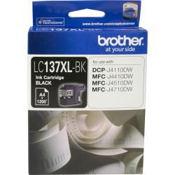 BROTHER LC137XLBK INKJET CART Black 1200pg High Yield