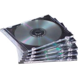 FELLOWES CD JEWEL CASES Slimline Black