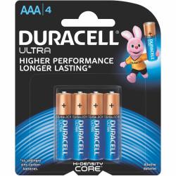 DURACELL ULTRA BATTERY AAA 4/Card