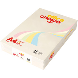 OFFICE CHOICE TINTS COPY PAPER A4 80gsm Ivory