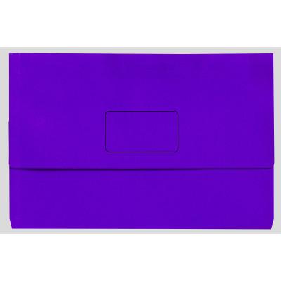 MARBIG SLIMPICK WALLET BRIGHT Foolscap Bright Purple Pk10