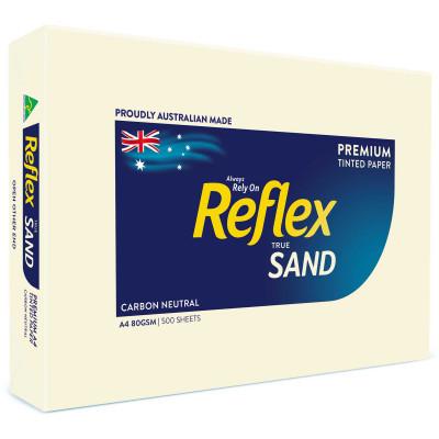 REFLEX TINTS COPY PAPER A4 80gsm Sand