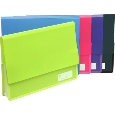 MARBIG POLYPICK DOCUMENT WLT A4 Heavy Duty Wallet Blue